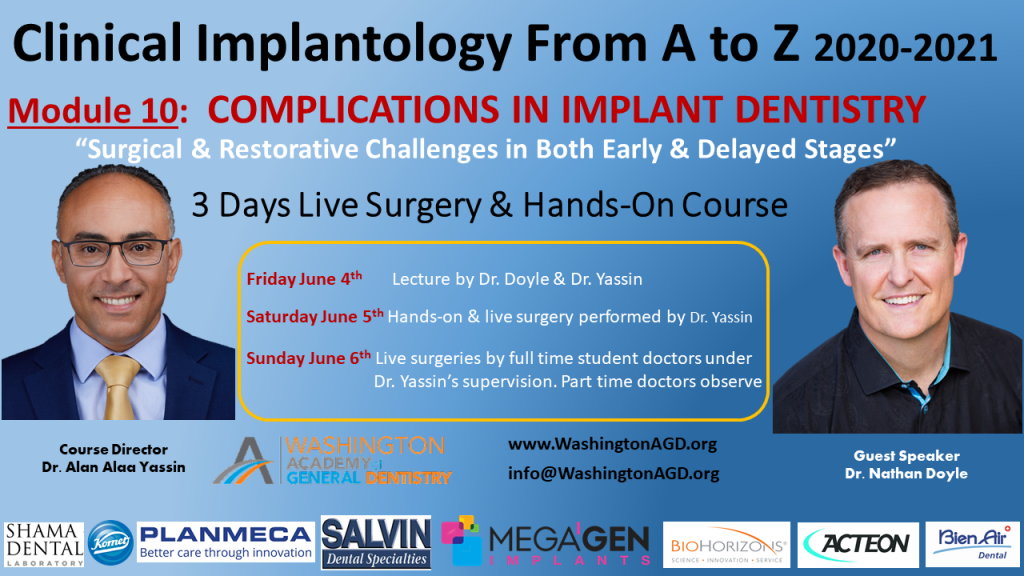 Module 10 Dr. Yassin / Dr. Doyle