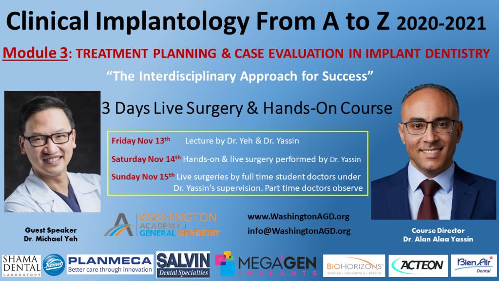 Module 3 Dr. Yassin / Dr. Yeh