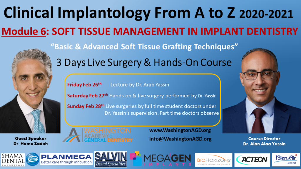 Module 6 Dr. Yassin / Dr. Zadeh