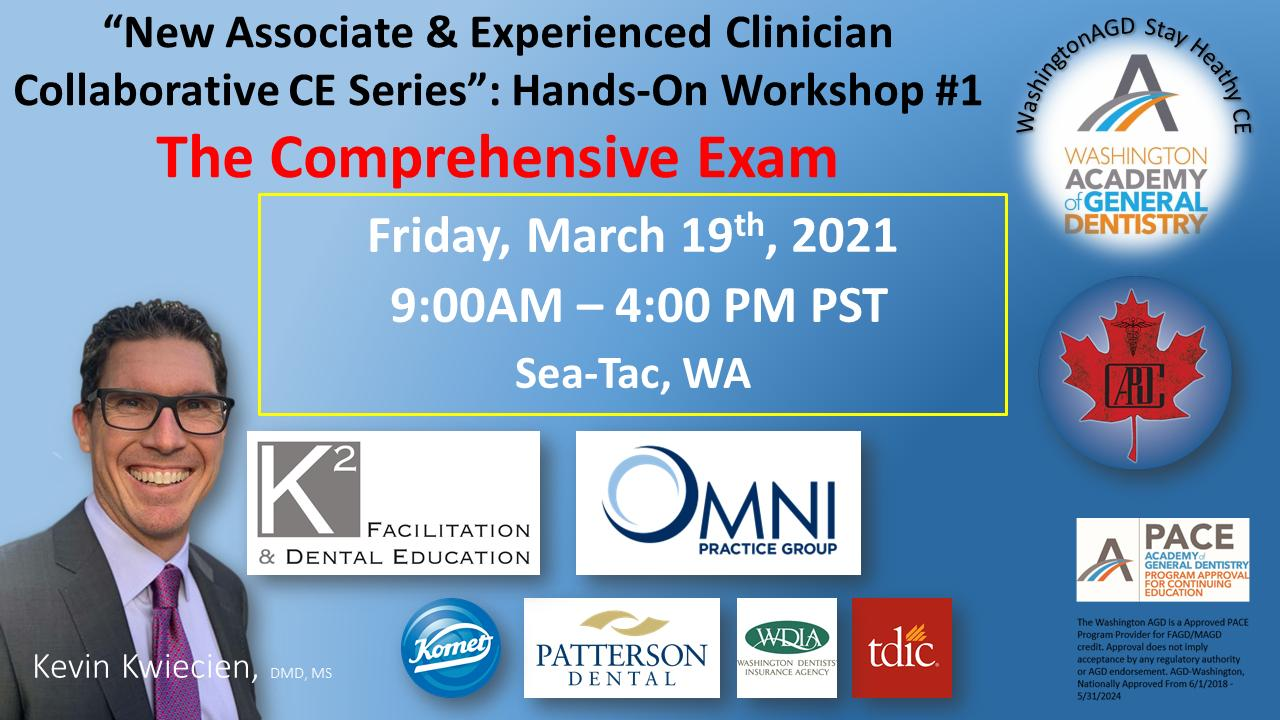 Workshop 1: Comprehensive Exam