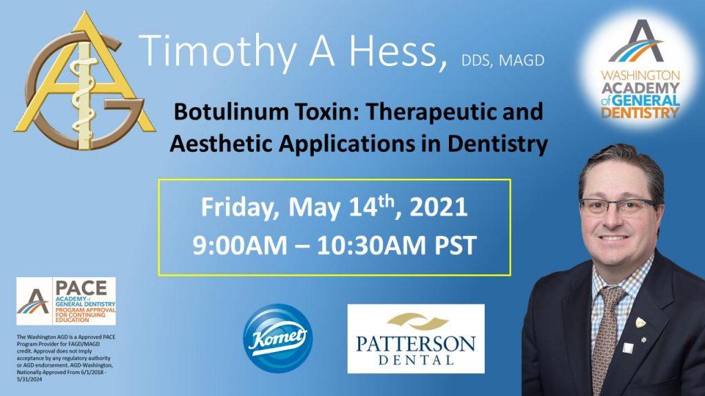 Hess Botulinum Toxin May 2021