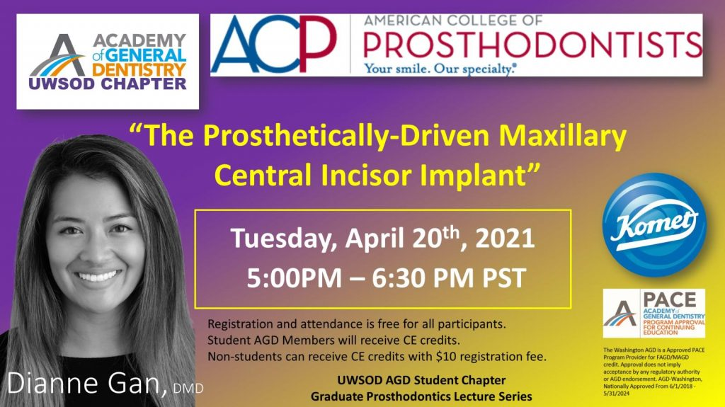 """The Prosthetically-Driven Maxillary Central Incisor Implant"""